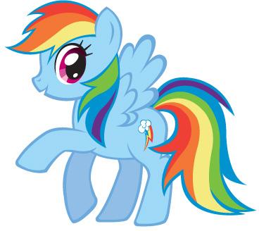 Malvorlagen Rainbow Dash